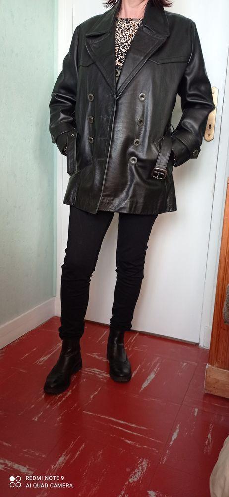 Très belle veste en cuir  femme 48 Paris 20 (75)