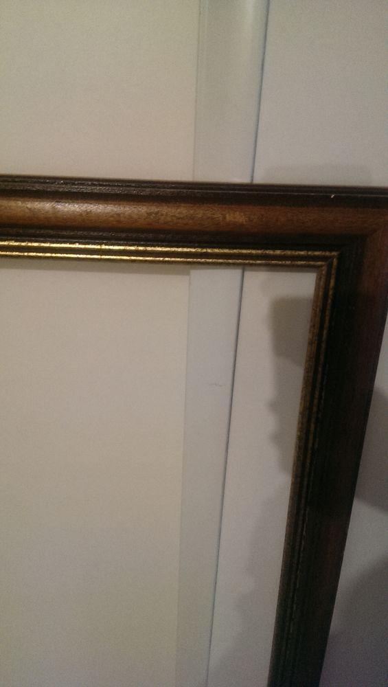 Très grand cadre ancien en bois dorés n°2 100 Champigny-sur-Marne (94)