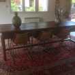Tres Grande table 18ieme / 6 chaises cuir  Mazaugues (83)