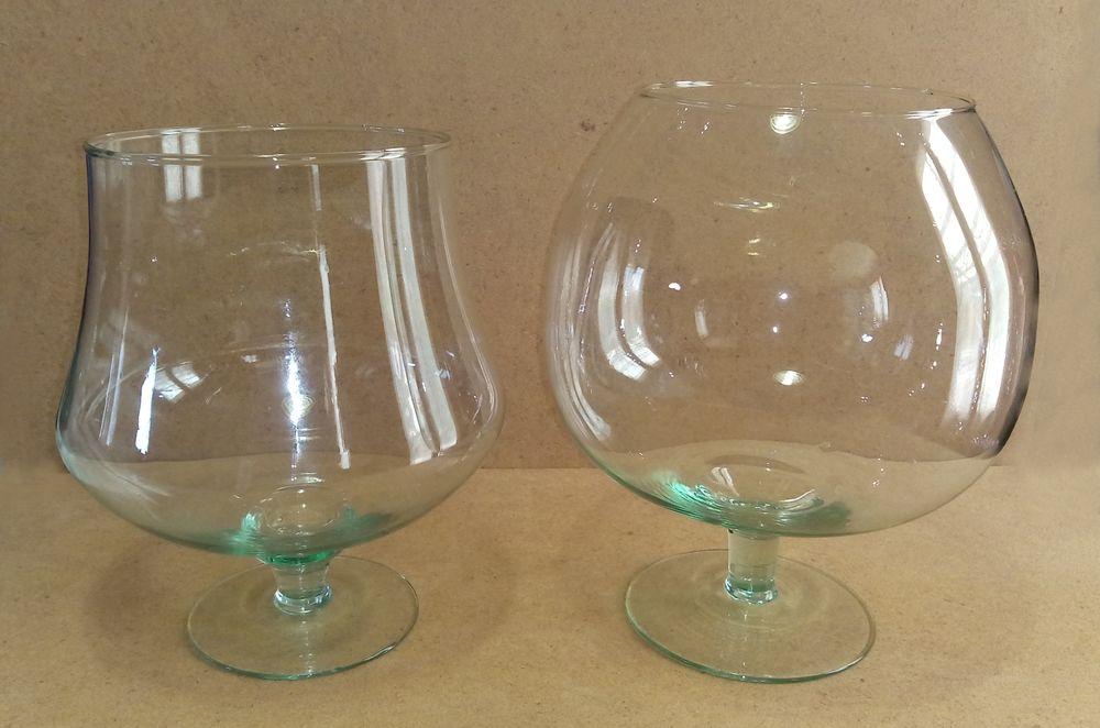 Lot de 2 Très grands verres  10 Saint-Pathus (77)