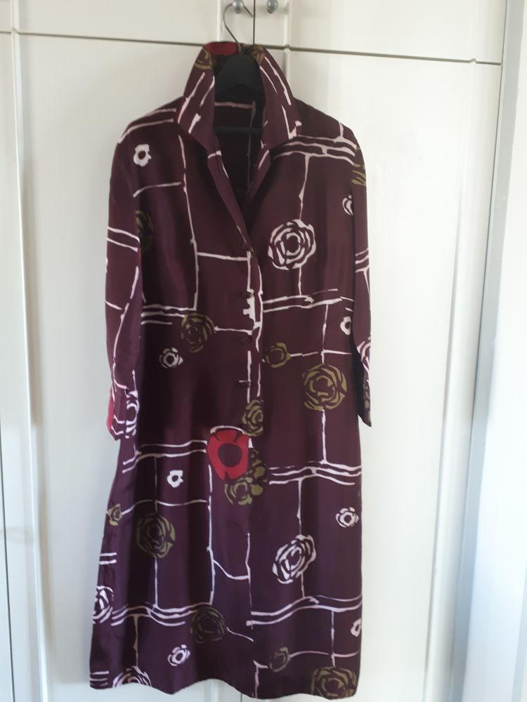 Très jolie robe / Chemise en soie  - Taille 40/42 18 Villemomble (93)
