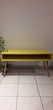 Très jolie table Vintage télé jaune