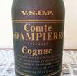 """Très rare bouteille de Cognac """"Comte de DAMPIERRE"""" 80 Saint-Avold (57)"""