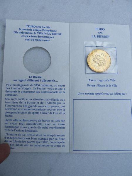 tres rare collection monnaie de Paris euro de la Bresse  10 Viriat (01)
