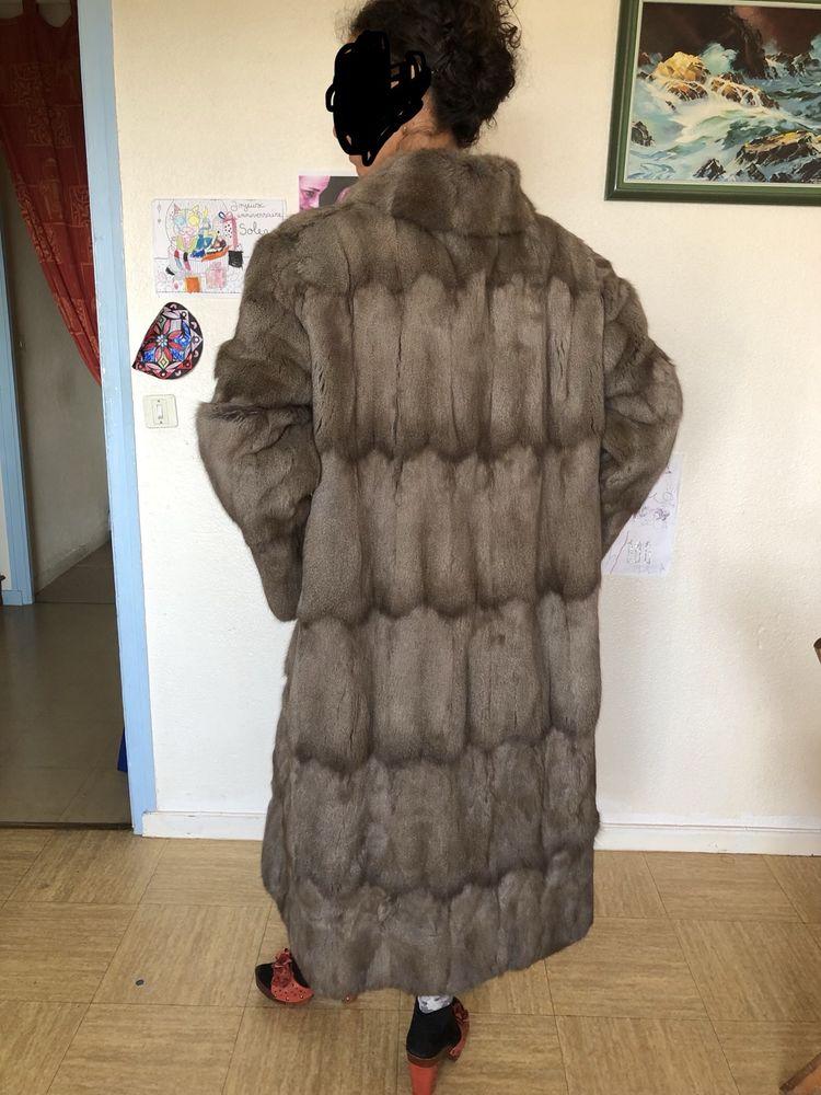 Très rare Manteau de fourrure petit gris . 899 Saint-Julien-en-Genevois (74)