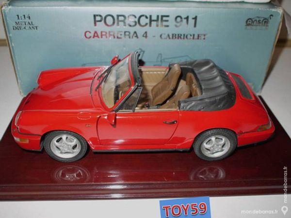 Très rare PORSCHE 911 CARRERA 4 CABRIOLET au 1/14e 110 Mons-en-Barœul (59)