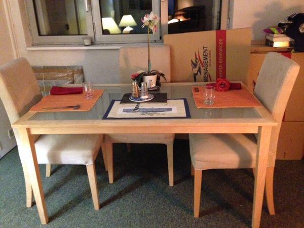TRES URGENT Table salle à manger 65 Boulogne-Billancourt (92)