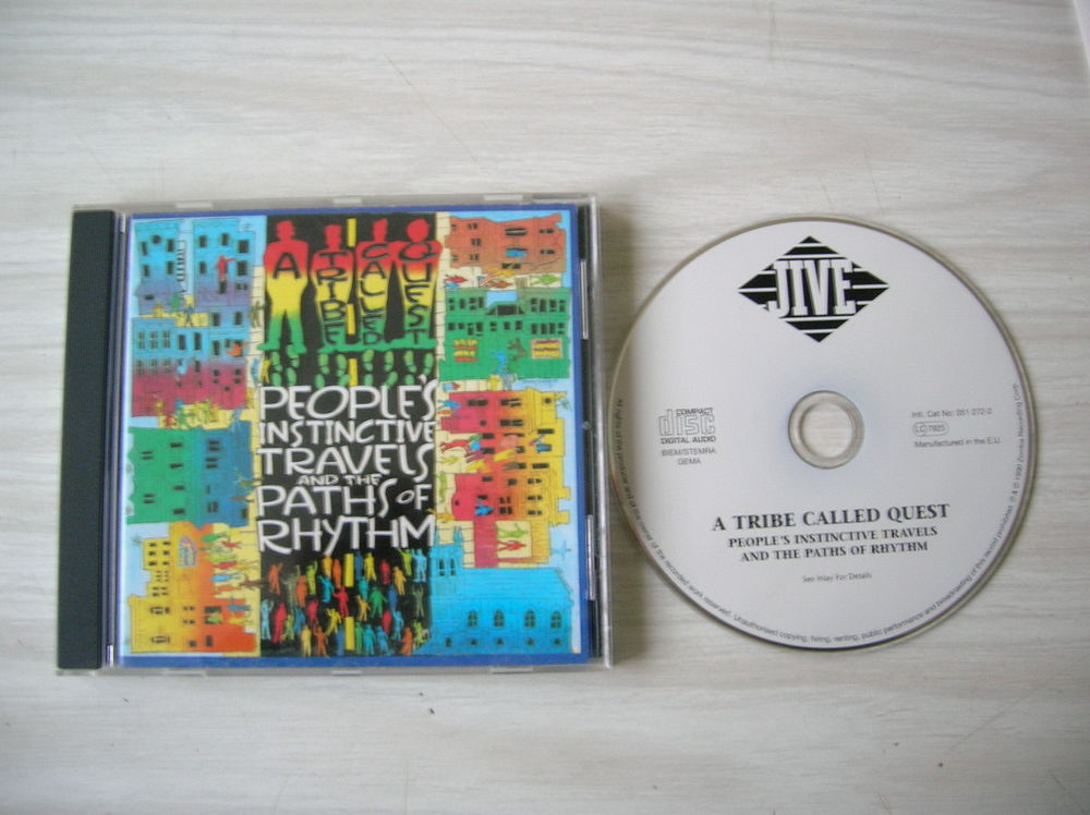 CD A TRIBE CALLED QUEST People's instinctive 5 Nantes (44)