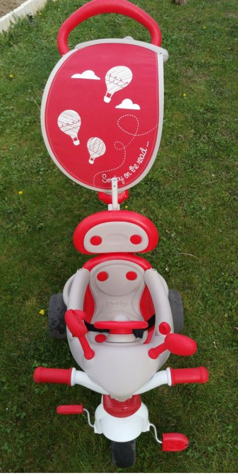 Tricycle Baby driver confort SMOBY 30 Le Pouget (34)