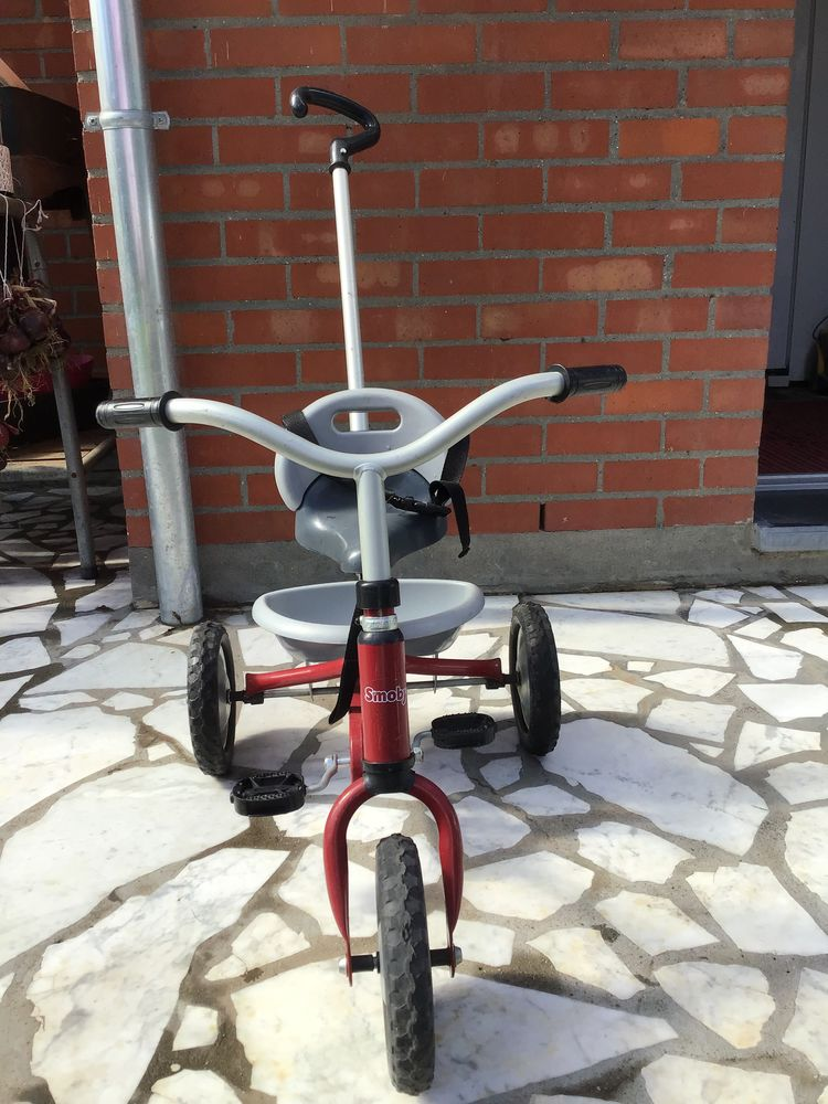 Tricycle rouge smoby  15 Willems (59)