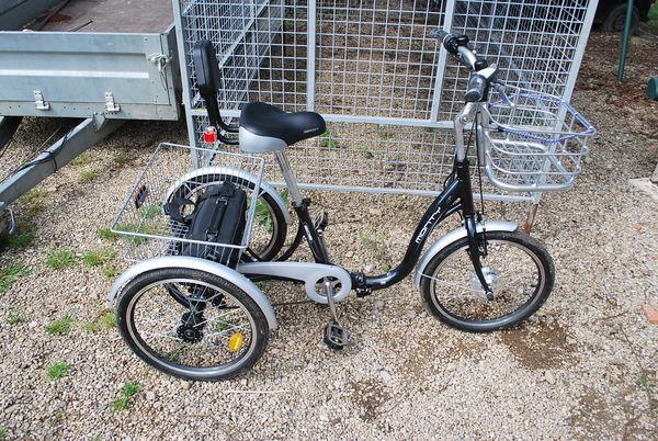 tricycle vélo assistance électrique  1100 Vincent (39)