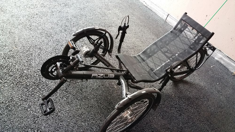 Trike AZUB BIKE, T-TRIS 26''. 1200 Pontarlier (25)