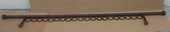 Tringle à rideau 2 m bois foncé avec accessoires 10 Balma (31)