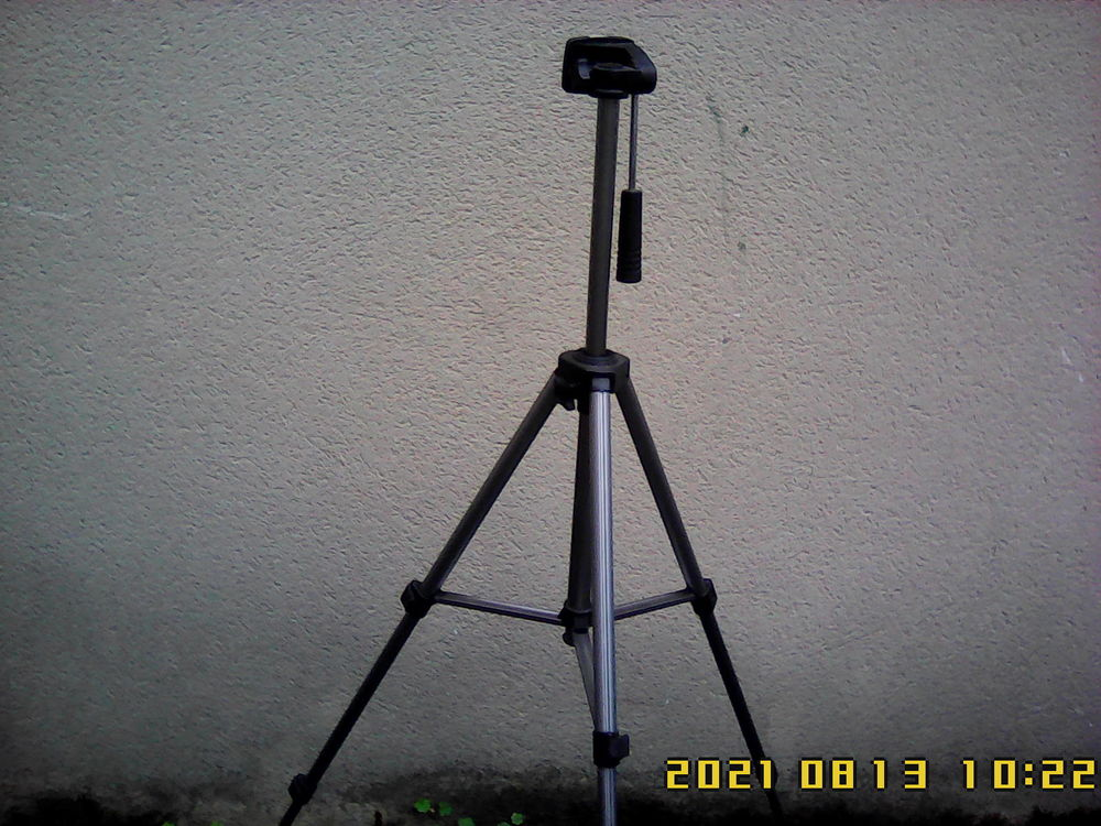 Tripode en aluminium Vanguard PT 168. hauteur 1,25 m.  50 Noailhac (81)