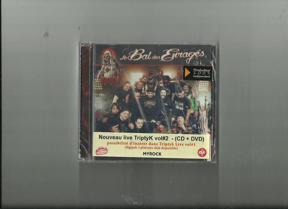 Triptyk (Nvelle ed.) CD+DVD Le Bal des Enrages (Artiste)  11 Saint-Martin-de-Belleville (73)
