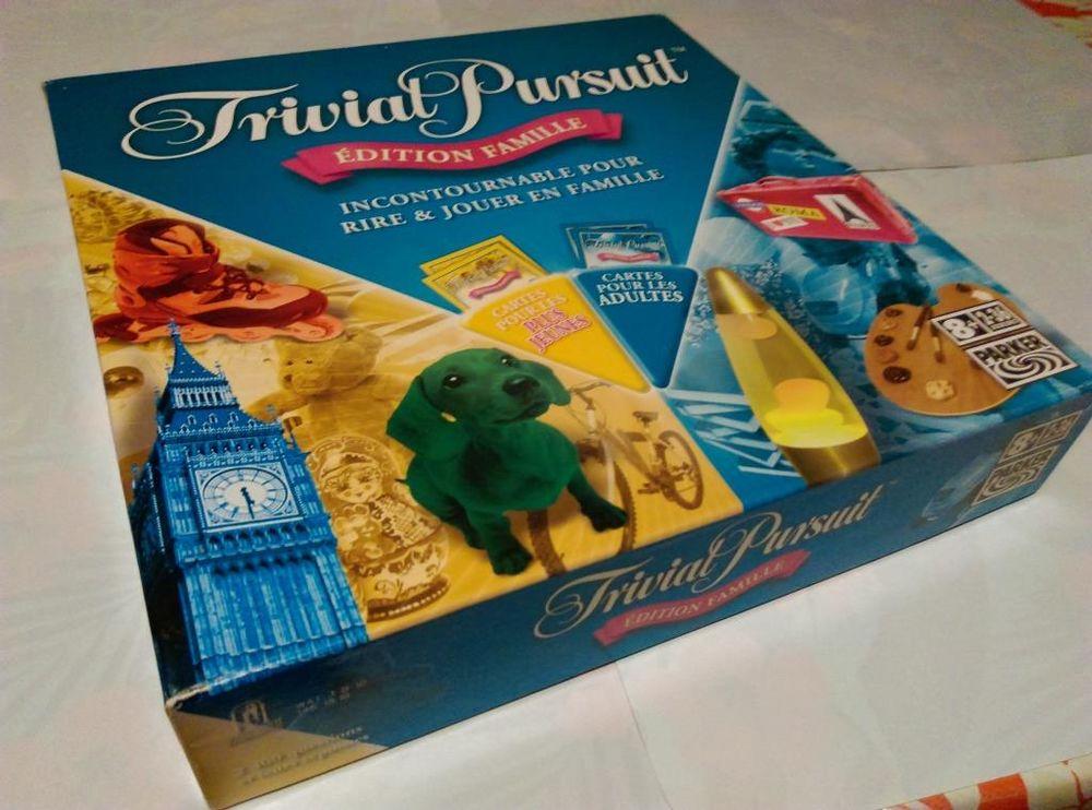 TRIVIAL PURSUIT Edition FAMILLE (jeux Parker et Horn Abbot i 26 Saint-Barthélemy (77)