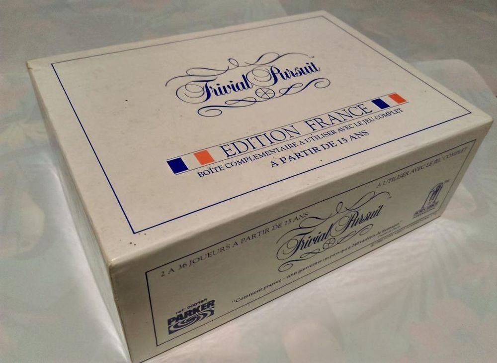 TRIVIAL PURSUIT Edition FRANCE (Recharge) 11 Saint-Barthélemy (77)