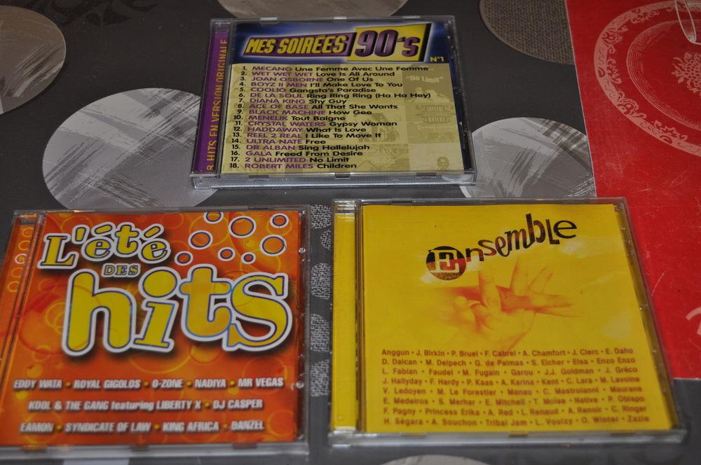 Lot de trois albums CD compilations  5 Perreuil (71)