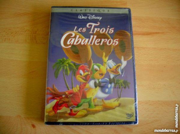 DVD LES TROIS CABALLEROS - Walt Disney 28 Nantes (44)