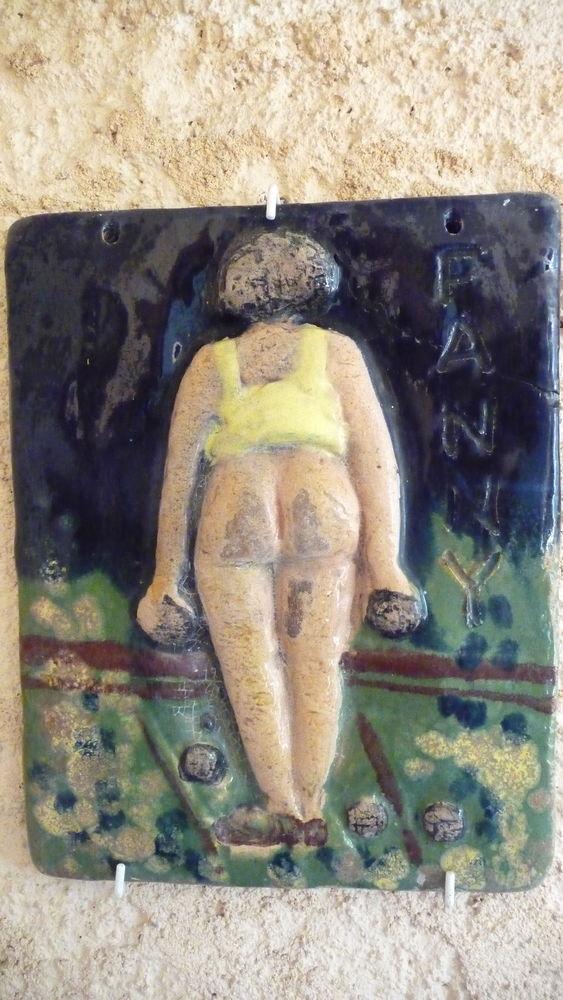 Trois  FANNY en céramique 130 Nice (06)
