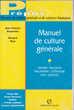 575 LOT DE TROIS manuels culture générale pour examens et co
