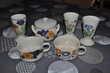 Lot de trois mazagrans et ses tasses