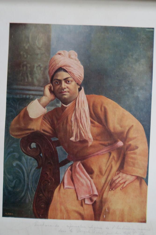 trois portraits anciens indiens 10 Poissy (78)