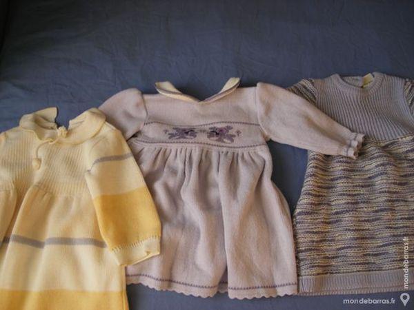 trois robes 6 mois 10 Laventie (62)