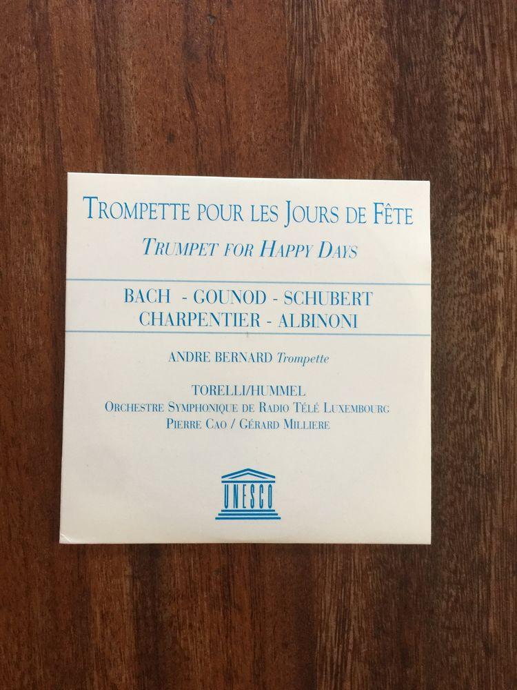 CD Trompette pour les jours de fête - Unesco 3 Saleilles (66)