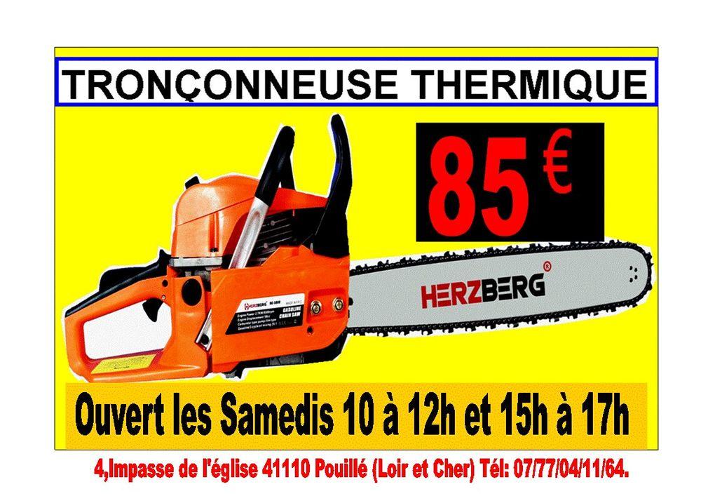 Tronçonneuse thermique 52cm³ / 50cm 85 Pouillé (41)