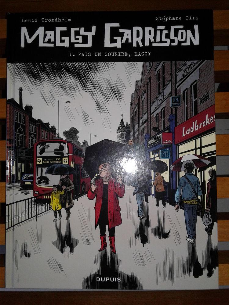 TRONDHEIM Maggy Garrisson T1 EO Livres et BD