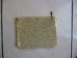 Trousse en tissu paillettes dorées glissière beige NEUVE 5 Montigny-le-Bretonneux (78)
