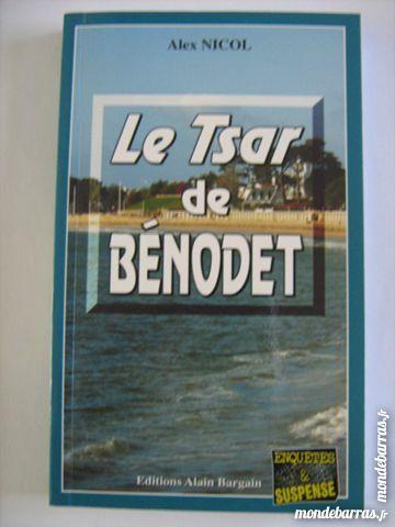 LE TSAR DE BENODET  policier  BRETON BARGAIN 3 Brest (29)