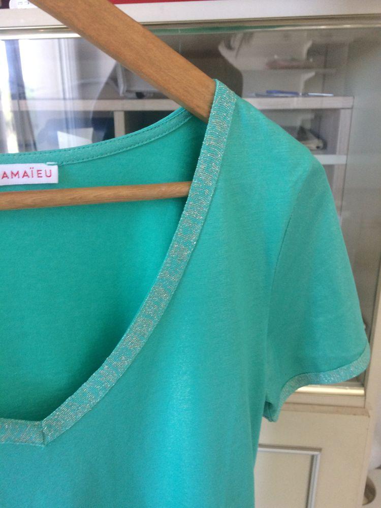 Tshirt Camaieu neuf vert irisé taille 36 7 Montpellier (34)
