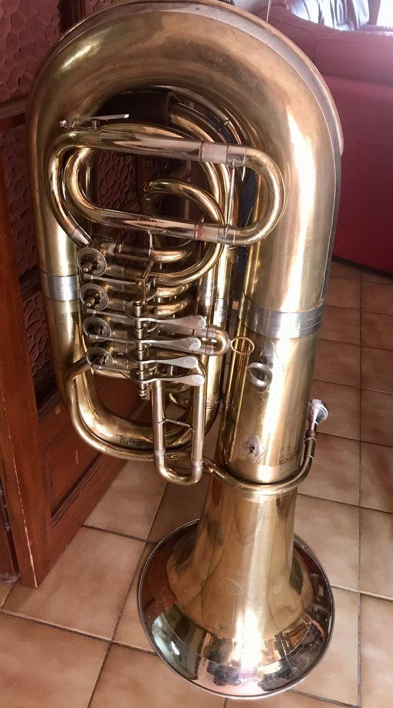 Tuba - contrebasse sib Marque B&S - modèle symphonie 3300 Valros (34)