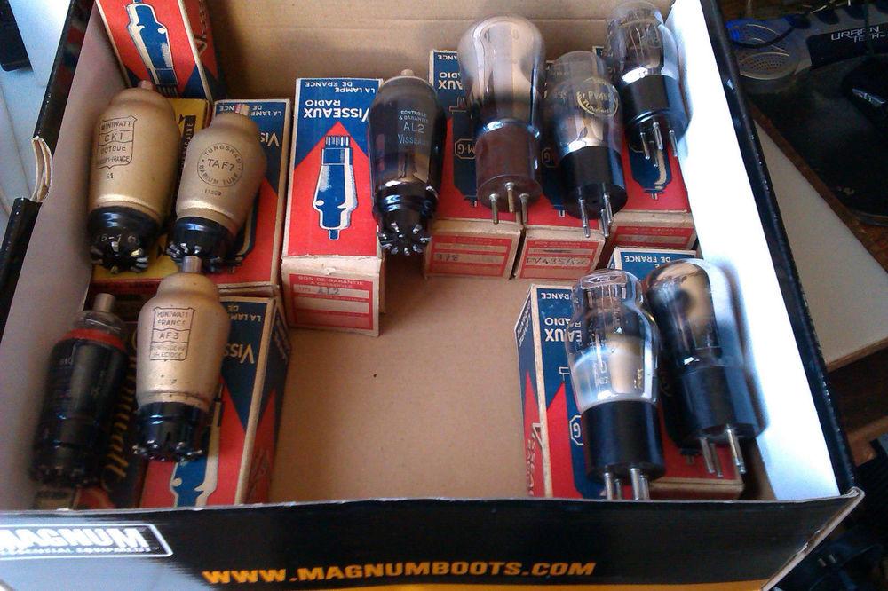 tubes radio lot N° 2 20 Nogent-sur-Oise (60)