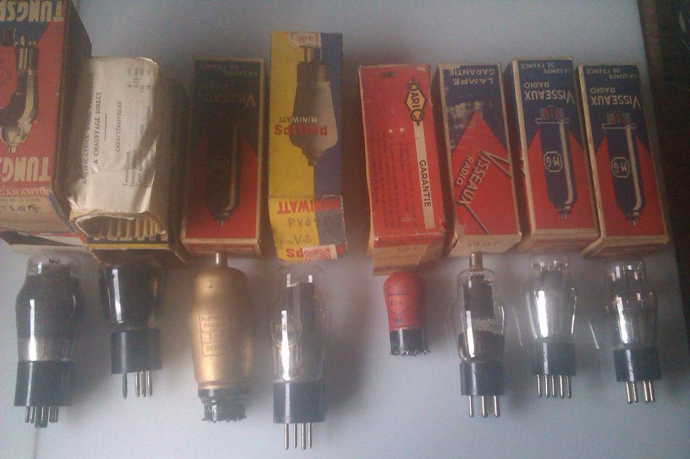 tubes radio lot N° 4A 20 Nogent-sur-Oise (60)