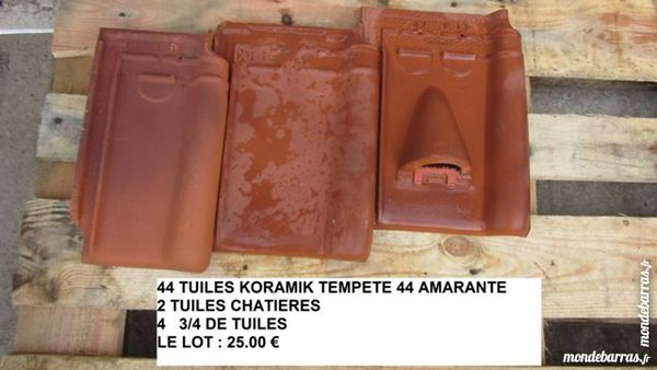 TUILES KORAMIC TEMPETE 44 25 Calais (62)