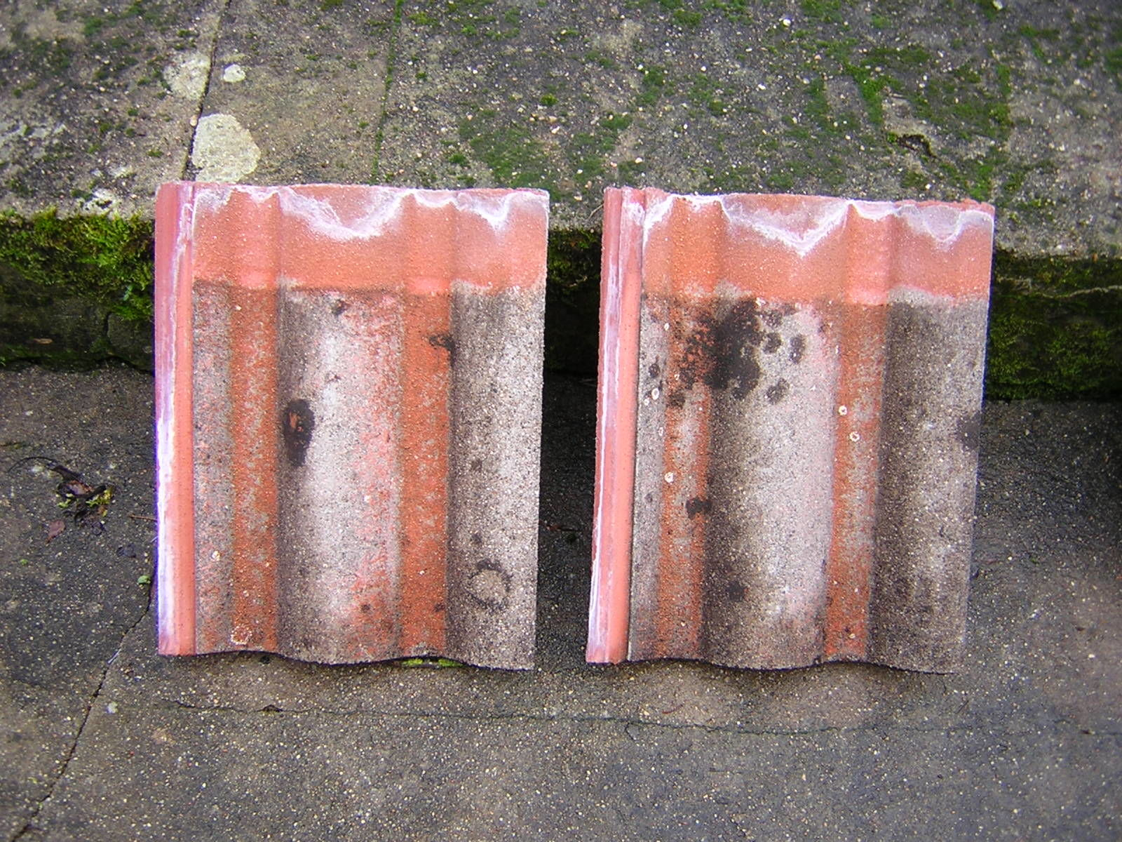 Tuiles Redland granitées rouges 0 Vasles (79)