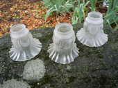 Tulipe verre compressé moulé,lustre,suspension 20 Castres (81)