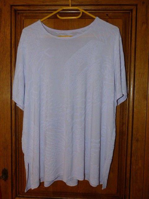 tunique blanche impression blanc en relief de savane Vêtements