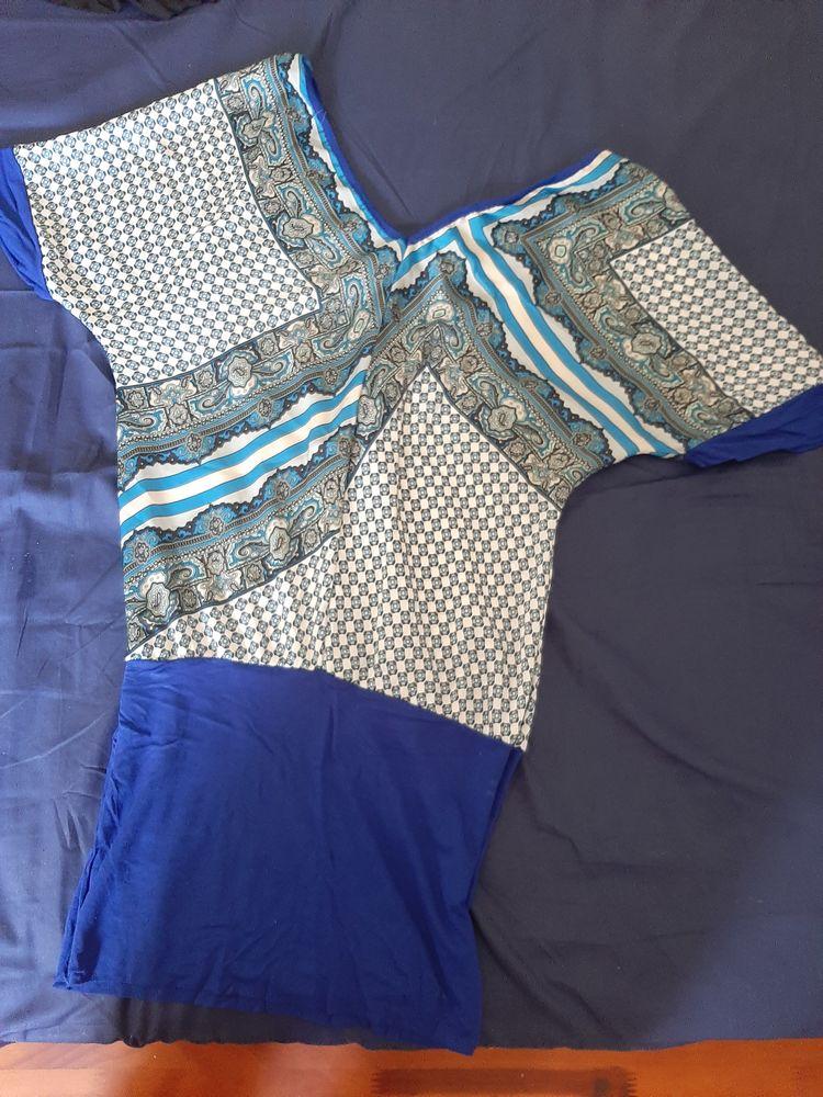 tunique bleue  top zara 6 Sainte-Clotilde (97)