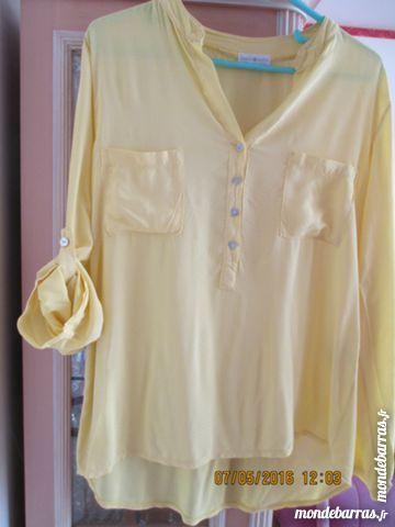 Tunique CACHE-CACHE jaune T 42 12 Alfortville (94)