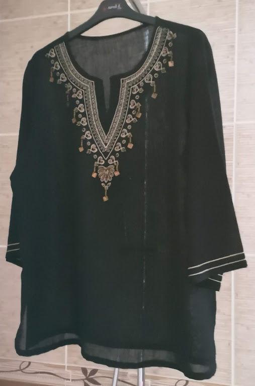 Tunique couleur noire - Neuve 10 Narbonne (11)