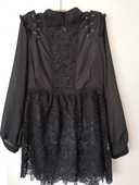 Tunique noire avec dentelle femme Taille 40. 58 Le Cannet (06)
