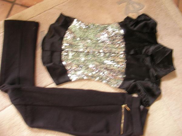 tunique  paillettes+legging  taille 36 4 Bourg (33)