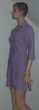tunique / robe chemise longue violine MIM T 1 : 36 38 Vêtements