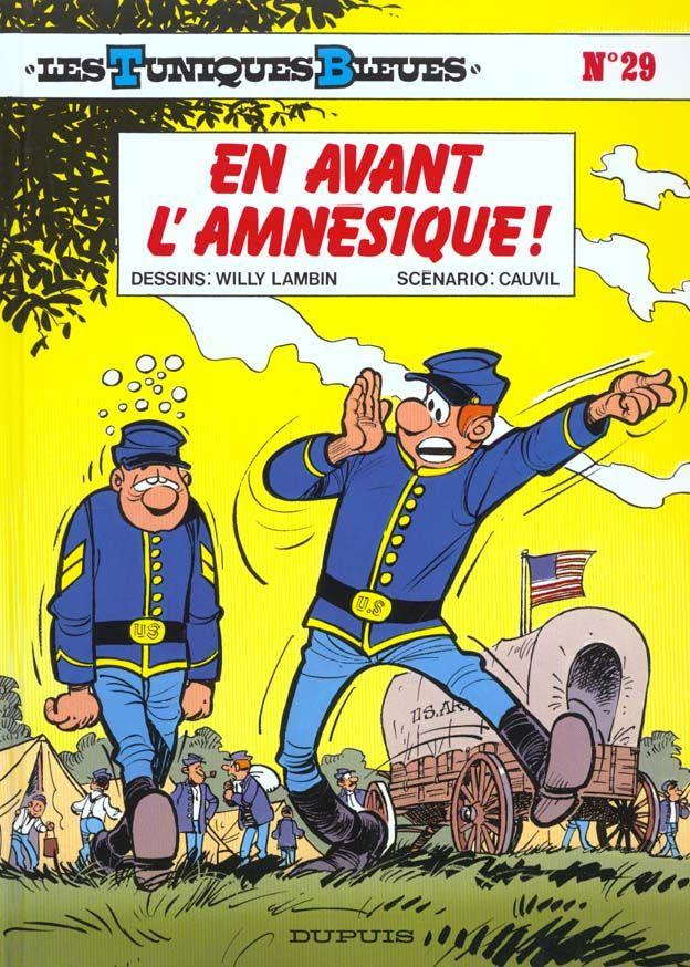 Les Tuniques Bleues T.29 ; en avant l'amnésique 10 Bourg-du-Bost (24)