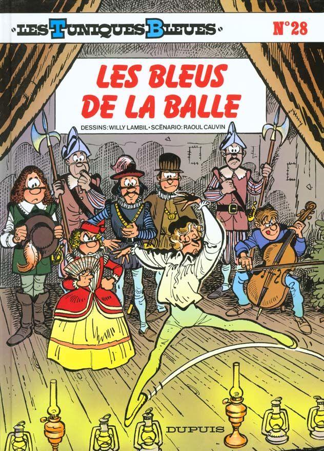 Les Tuniques Bleues T.28 ; les bleus de la balle 10 Bourg-du-Bost (24)