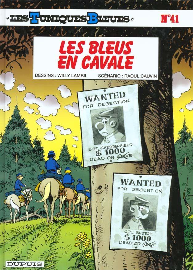 Les Tuniques Bleues T.41 ; les bleus en cavale 10 Bourg-du-Bost (24)